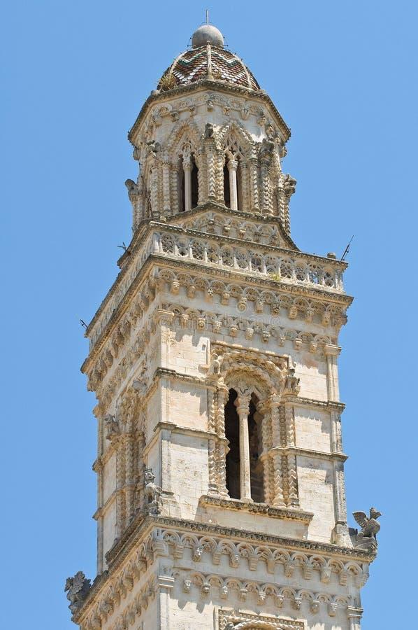 Iglica Raimondello. Soleto. Puglia. Włochy. obraz stock