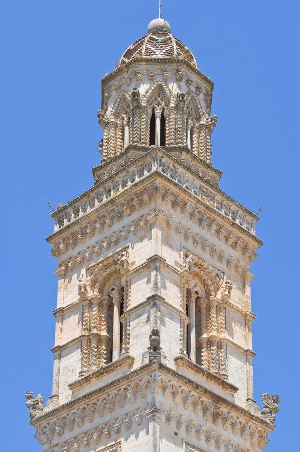 Iglica Raimondello. Soleto. Puglia. Włochy. obrazy royalty free