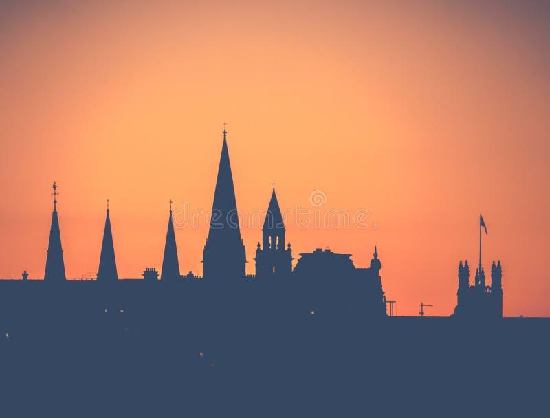 Iglicy Edynburg zdjęcie royalty free