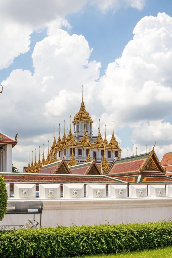 Iglicy Wat Ratchanadda obrazy stock