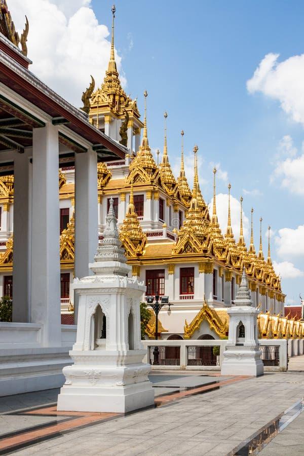 Iglicy Wat Ratchanadda fotografia royalty free