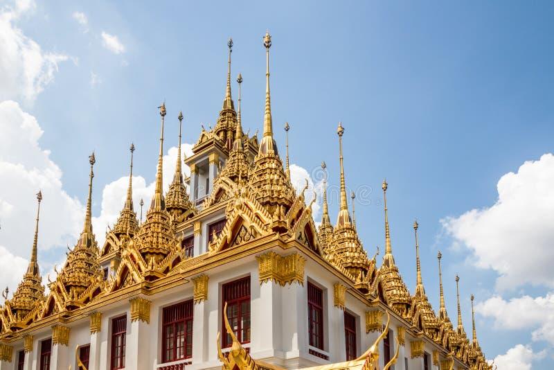 Iglicy Wat Ratchanadda zdjęcie royalty free