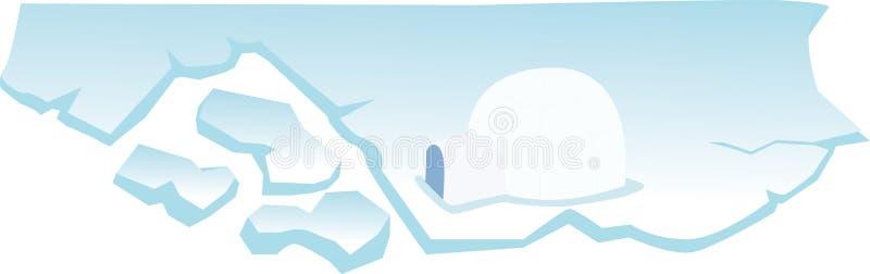 Iglo vector illustratie