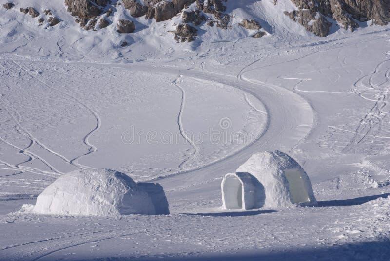 Igloo 1 de glace photo stock