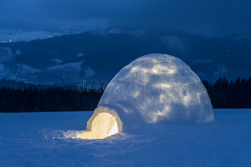 igloo photos libres de droits