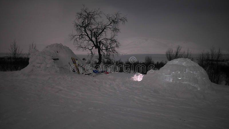 igloo arkivbilder
