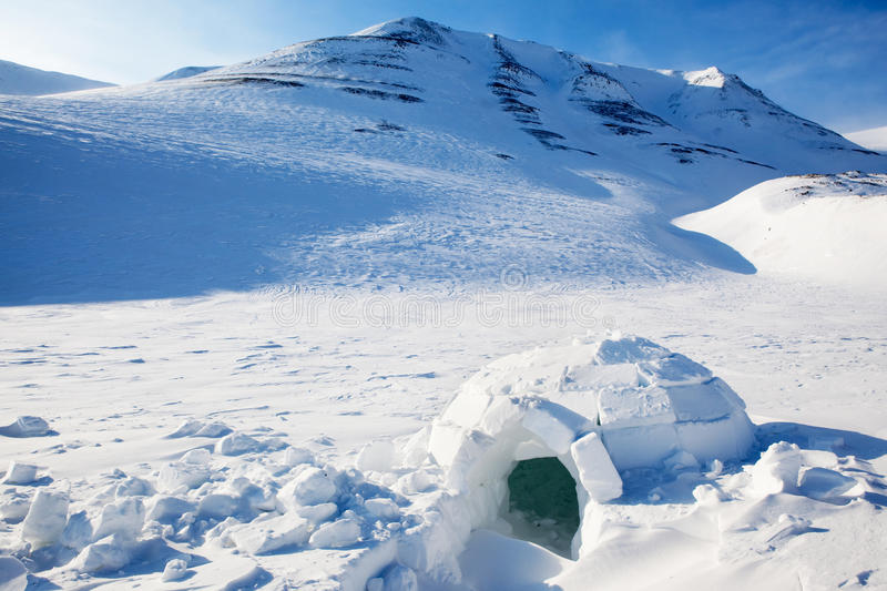 Igloo stock image