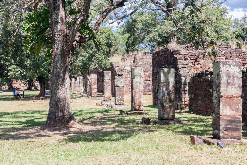 ignacio jesuit rujnuje misji San fotografia royalty free