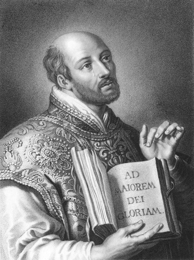 Ignatius de Loyola fotografia de stock