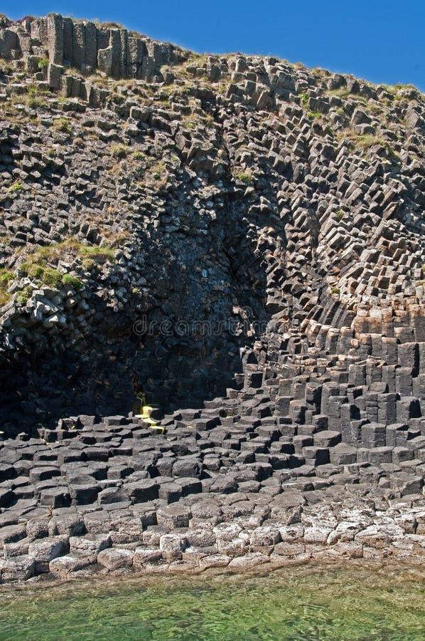 Free Igneous Rock Staffa Inland, Inner Hebrides, Scotland, UK Stock Images - 20540054