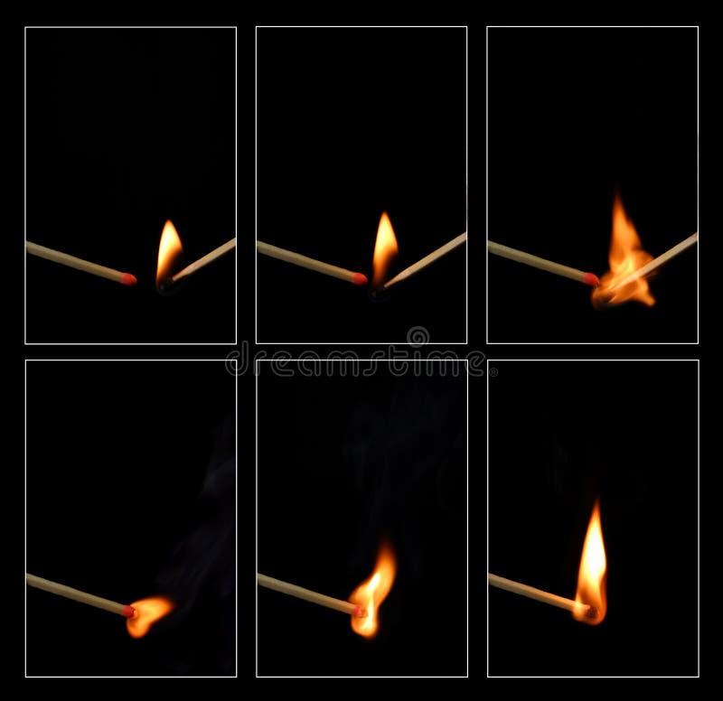 Ignición del emparejamiento fotografía de archivo libre de regalías