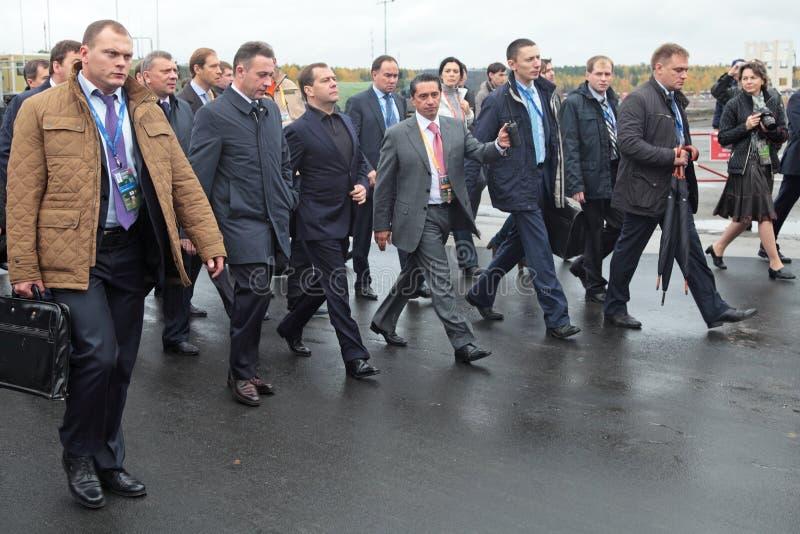 Download Igor Kholmanskikh, Dmitry Medvedev And Oleg Sienko Editorial Image - Image: 34178820