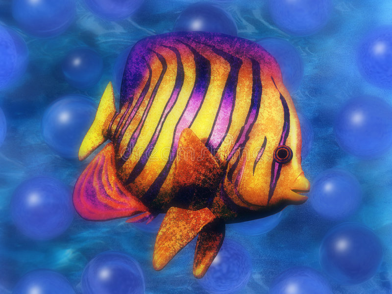 Igor los pescados ilustración del vector