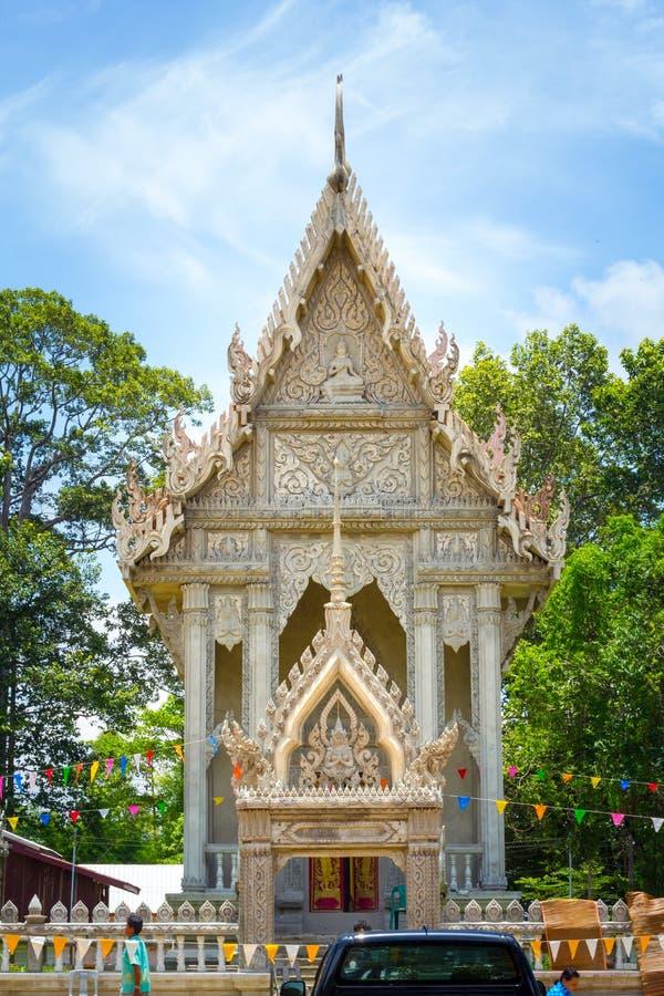 A igreja é um marco budista fotografia de stock