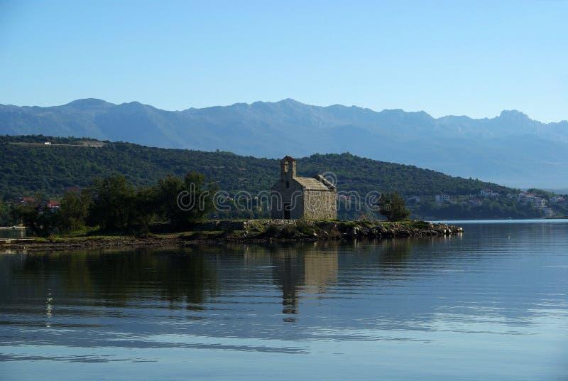 Igreja 01 de Sveti Duh imagens de stock