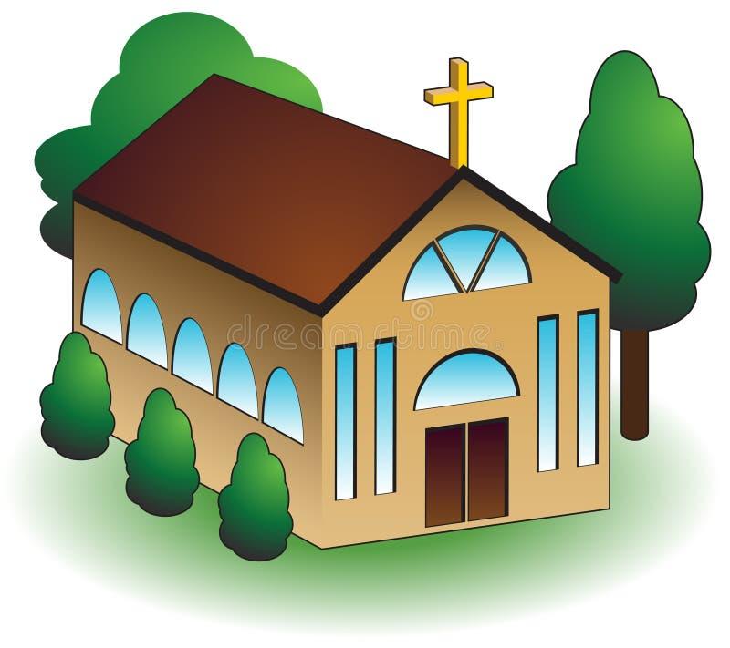 Igreja ilustração do vetor