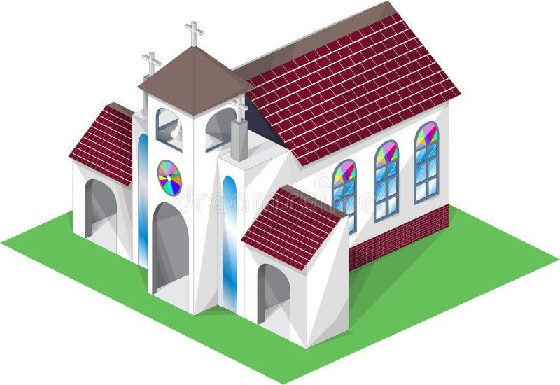 Igreja ilustração royalty free