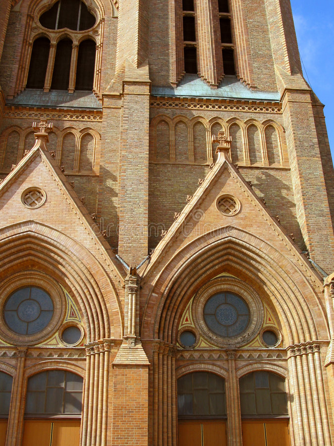 Igreja 3 fotos de stock