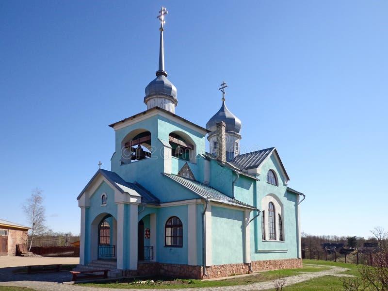 A igreja imagem de stock