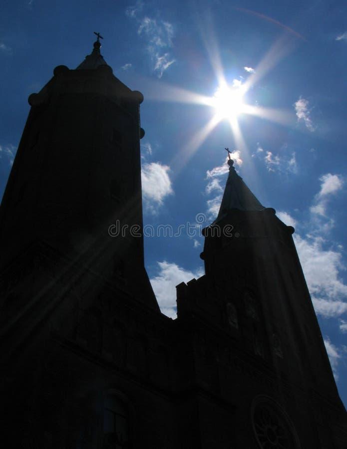 Download Igreja imagem de stock. Imagem de lustrador, cruz, catedral - 58797