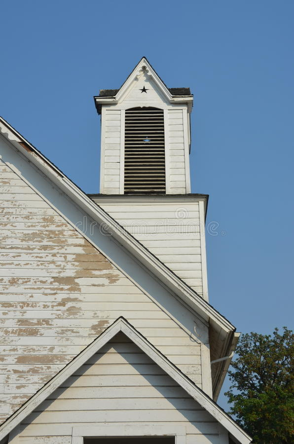 Igreja abandonada, vale de Willamette, Oregon EUA fotos de stock