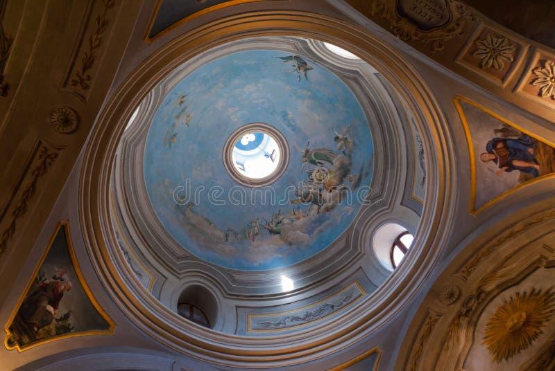Igreja Alta Gracia dos jesuítas fotografia de stock royalty free