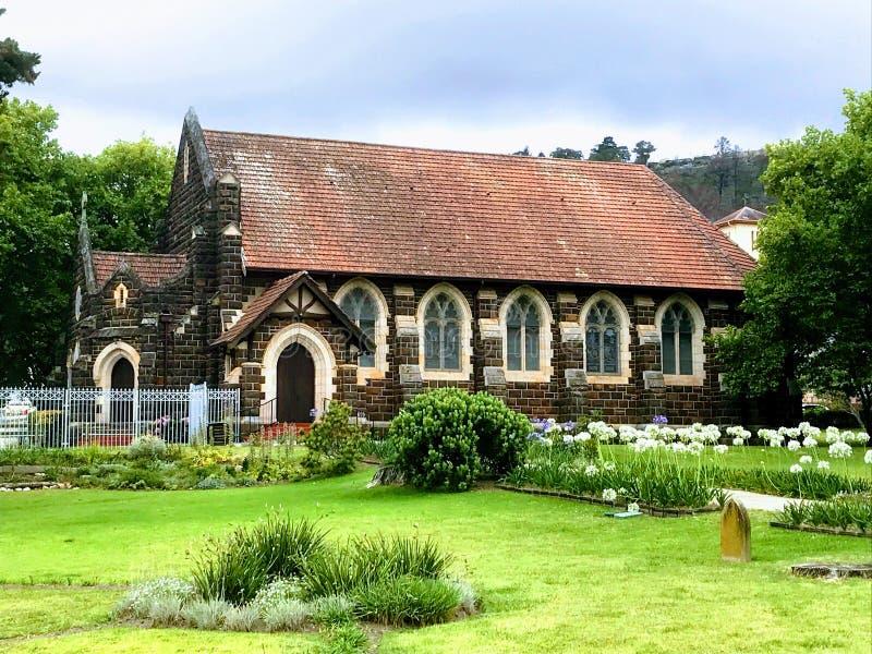 Igreja anglicana Knysna do ` s de St George imagem de stock royalty free