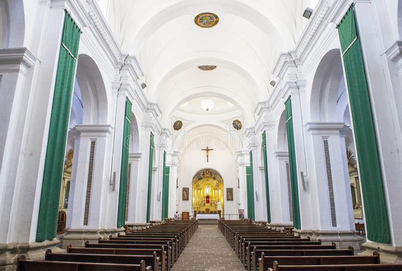 Igreja Antígua de Merced do La imagens de stock royalty free