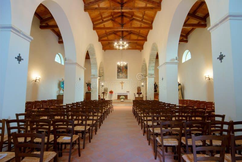 Igreja antiga de Faifoli (Molise, Italy center) foto de stock royalty free