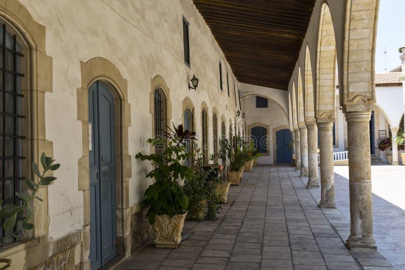 Igreja antiga de Saint Lazarus Cidade Larnaca chipre fotografia de stock