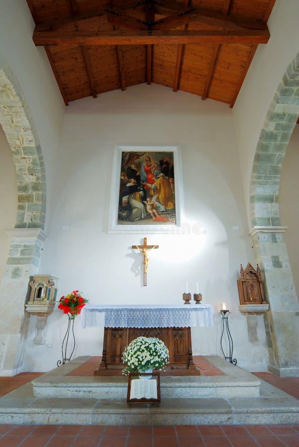 Igreja antiga do detalhe de Faifoli fotos de stock royalty free