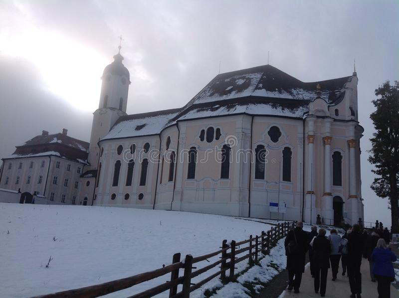 Igreja austríaca fotografia de stock