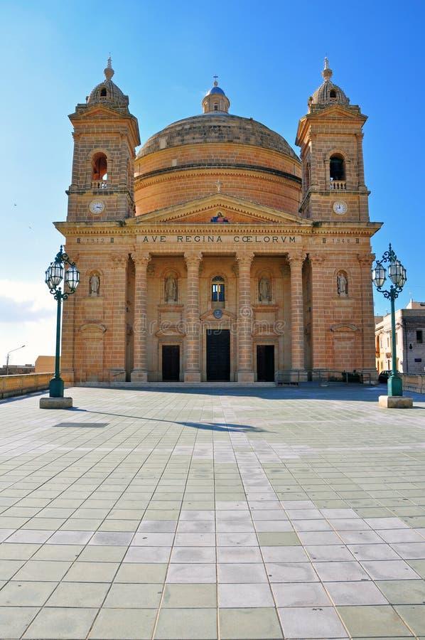 Igreja barroco em Malta foto de stock royalty free