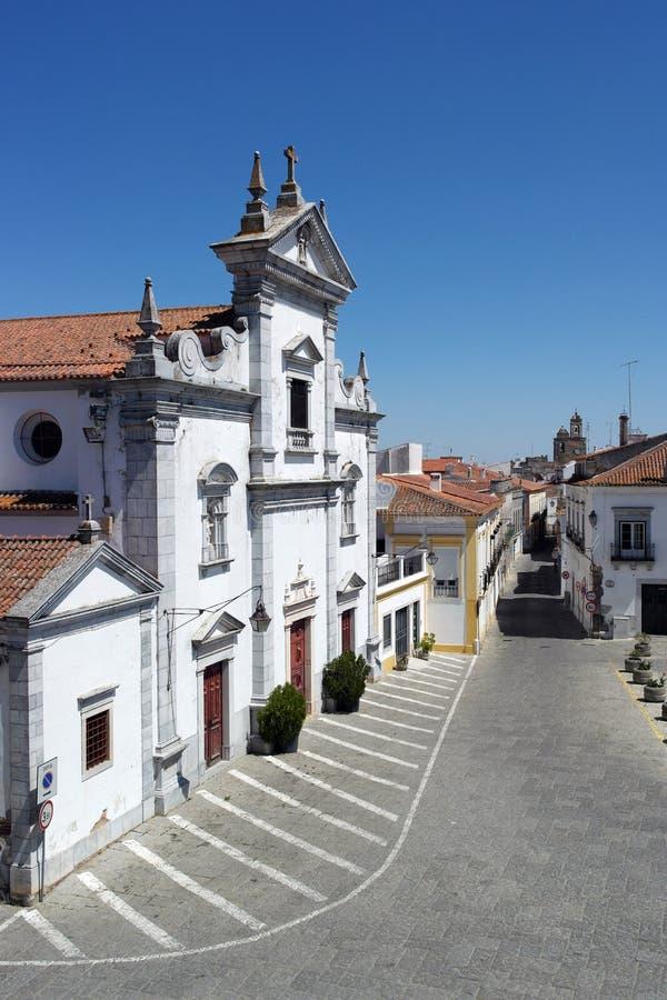 Igreja, Beja, Portugal fotos de stock royalty free