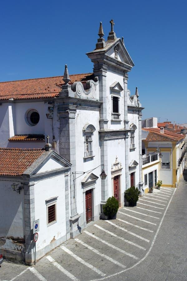 Igreja, Beja, Portugal foto de stock royalty free