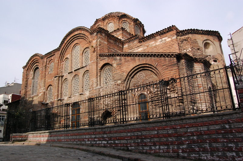 Igreja bizantina de Pentepoptes, Istambul imagens de stock royalty free