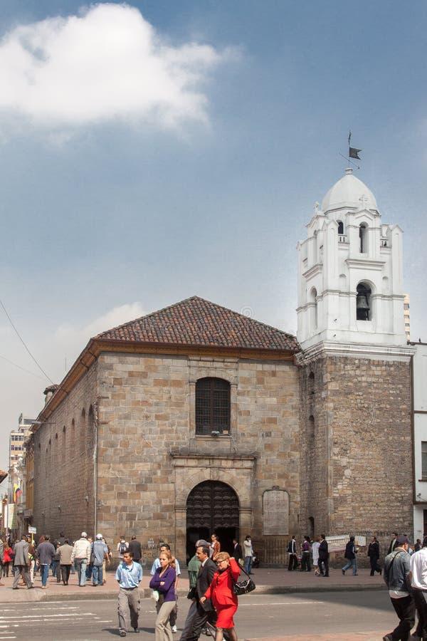 Igreja Bogotá Colômbia de San Francisco foto de stock royalty free