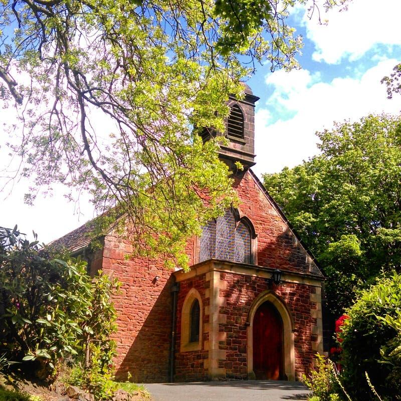 Igreja bonita fotografia de stock