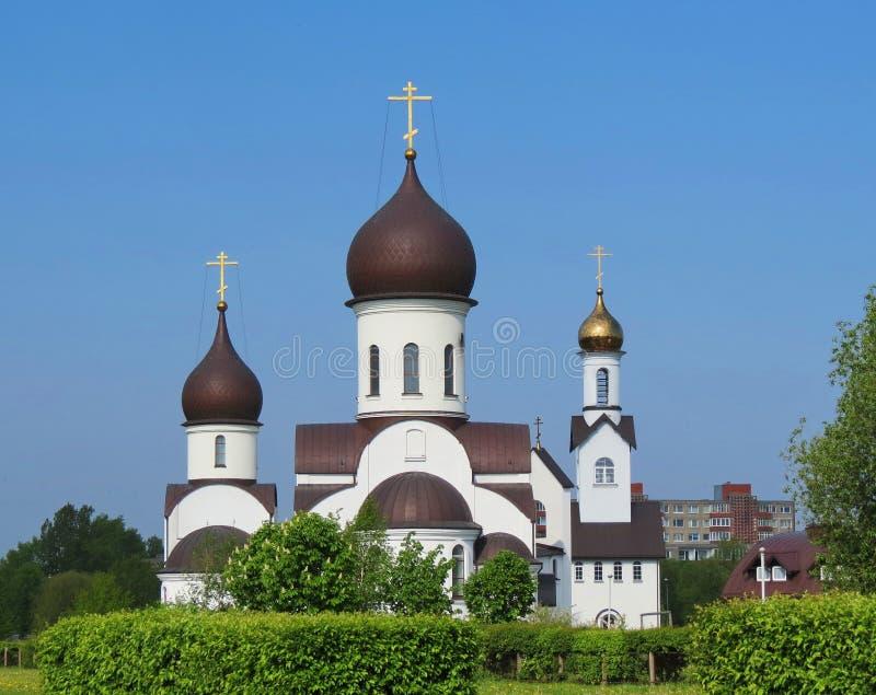 Igreja bonita do russo, Lituânia fotos de stock