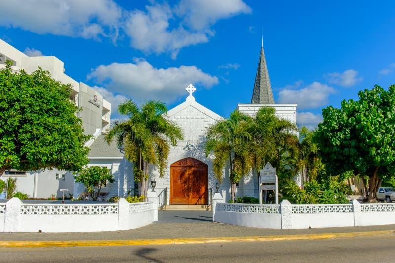 Igreja Caimão-St unida Elmslie grande fotografia de stock royalty free