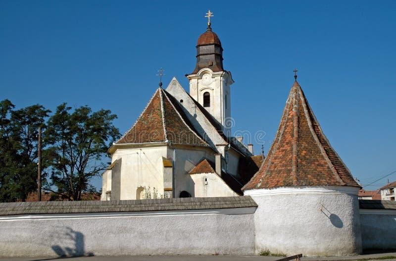 Igreja Católica armênia em Gheorgheni, Romênia imagens de stock