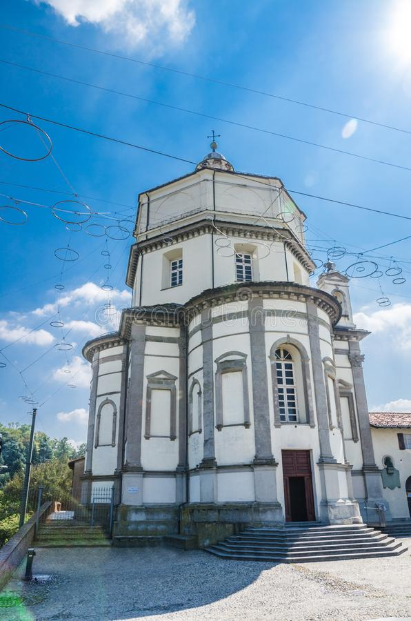 Igreja Católica Chiesa de Cappuccini do dei de Santa Maria del Monte imagem de stock royalty free
