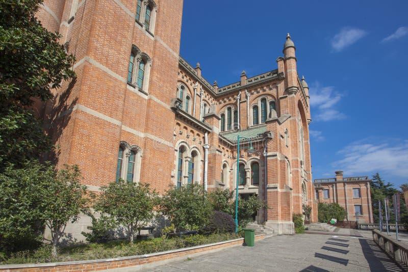 Igreja Católica de Sheshan, Shanghai fotos de stock royalty free
