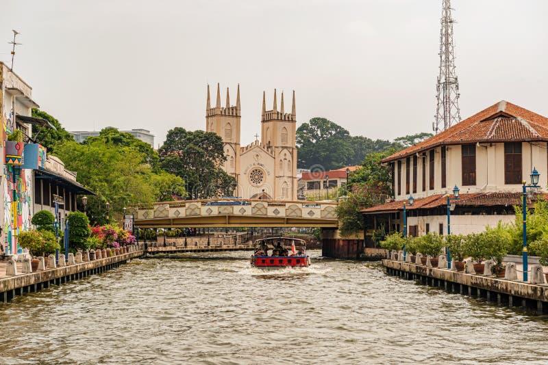 Igreja Católica de St Francis Xavier, destinati popular do turismo fotos de stock