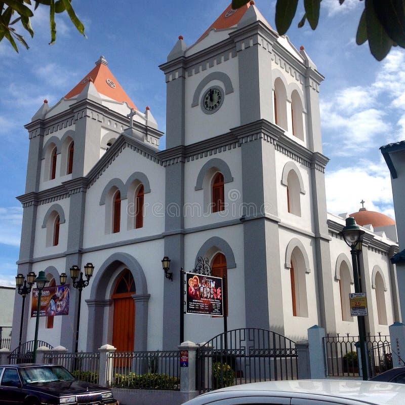 Igreja Católica em Aibonito do centro imagem de stock royalty free