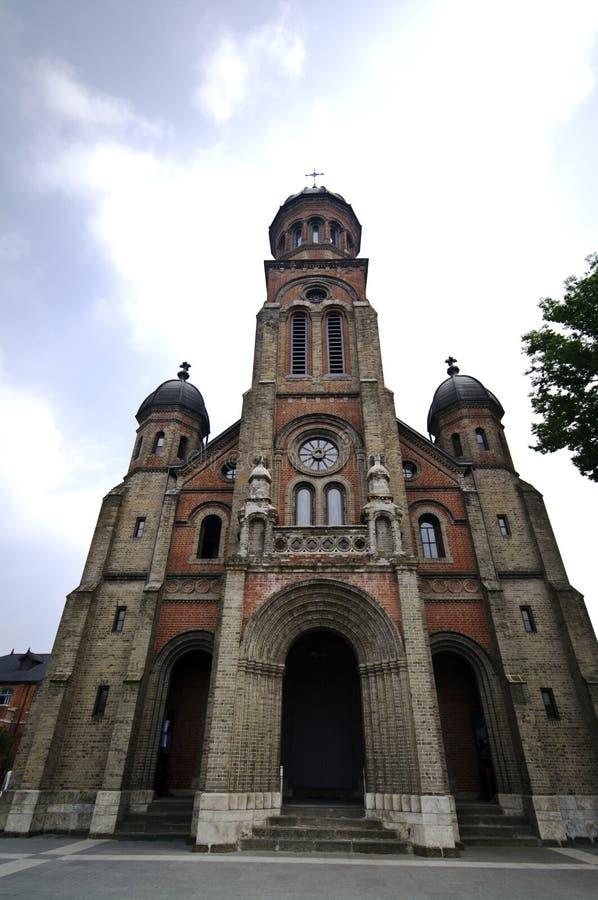 Igreja católica em Coreia do Sul fotografia de stock royalty free