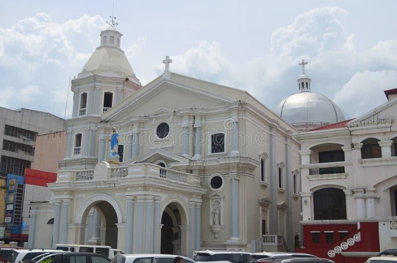 Igreja Católica em São Fernando, Filipinas fotografia de stock royalty free