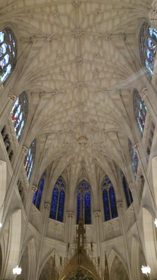 Igreja Católica NYC do ` s de St Patrick imagens de stock