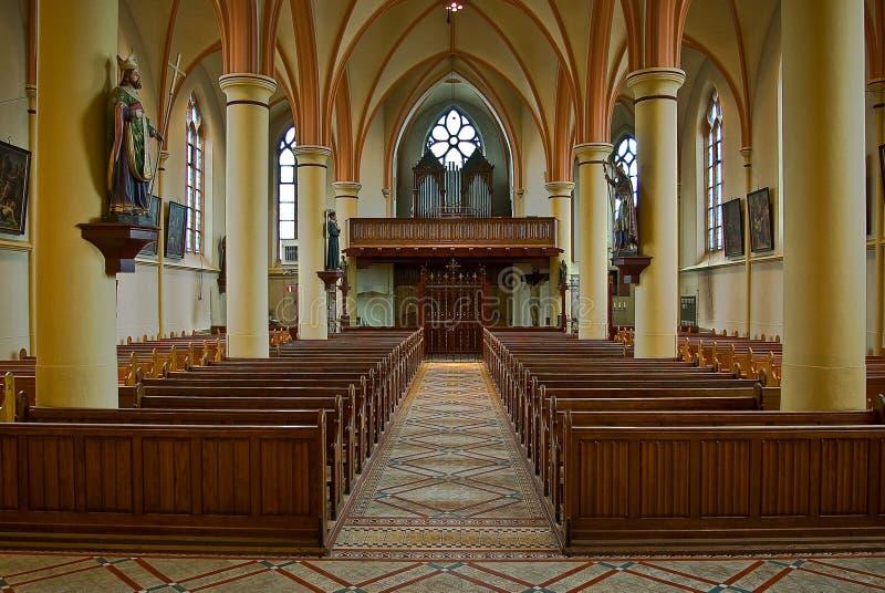 Igreja católica romana na Holanda de Gendringen fotos de stock