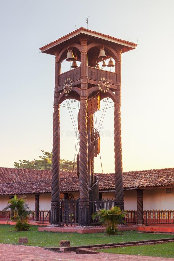 Igreja Concepción, missões do jesuíta na região de Chiquitos, Bolívia fotografia de stock royalty free
